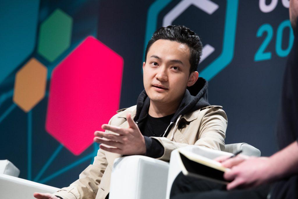 CEO Of Tron Justin Sun