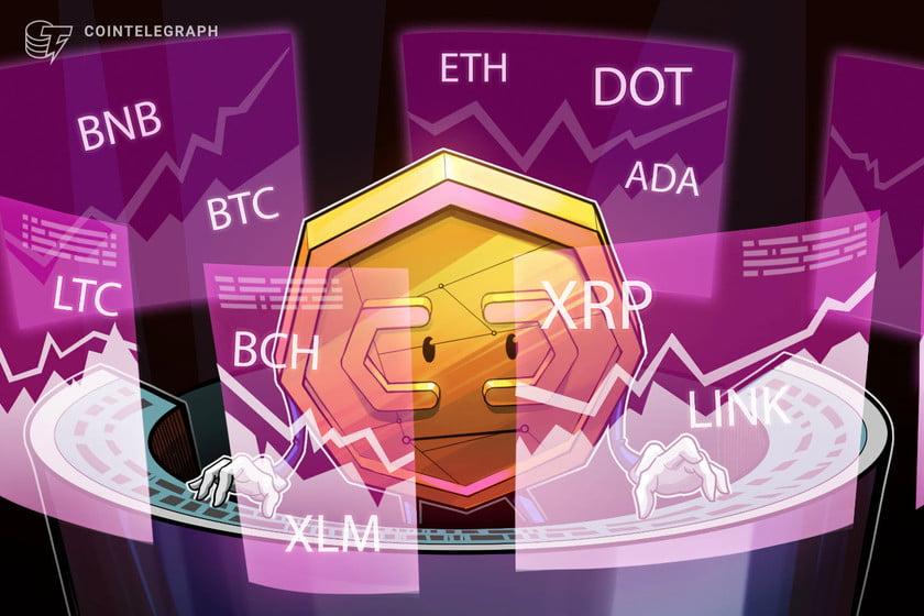 Price analysis 2/22: BTC, ETH, BNB, DOT, ADA, XRP, LTC, LINK, BCH, XLM