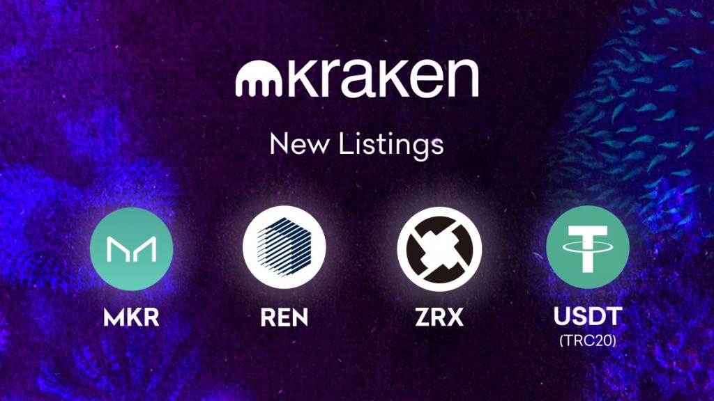 MKR, REN and ZRX trading starts May 14 - Deposit Now | Kraken Blog
