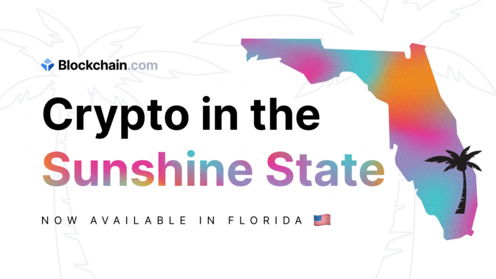 Blockchain.com is now available in Florida | by Blockchain.com | @blockchain | Aug, 2021