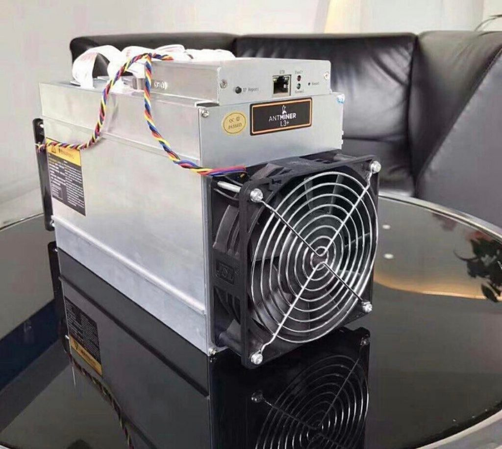 Just a Brand new Antminer L3+ sitting on my Table : litecoin