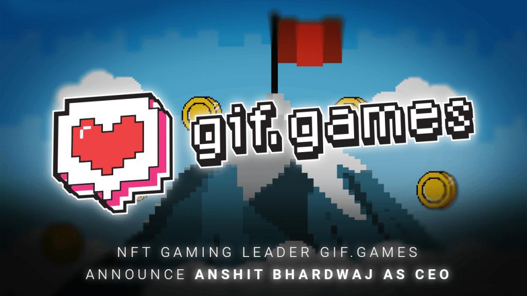 NFT Gaming Leader Gif.games Announce Anshit Bhardwaj as CEO