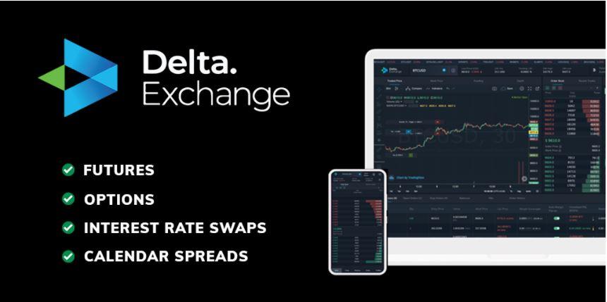 Trade crypto derivatives with Delta Exchange